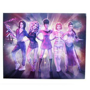 Space Girls 8x10 Exclusive Collector Print